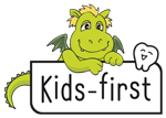 Kids first Dentist Logo