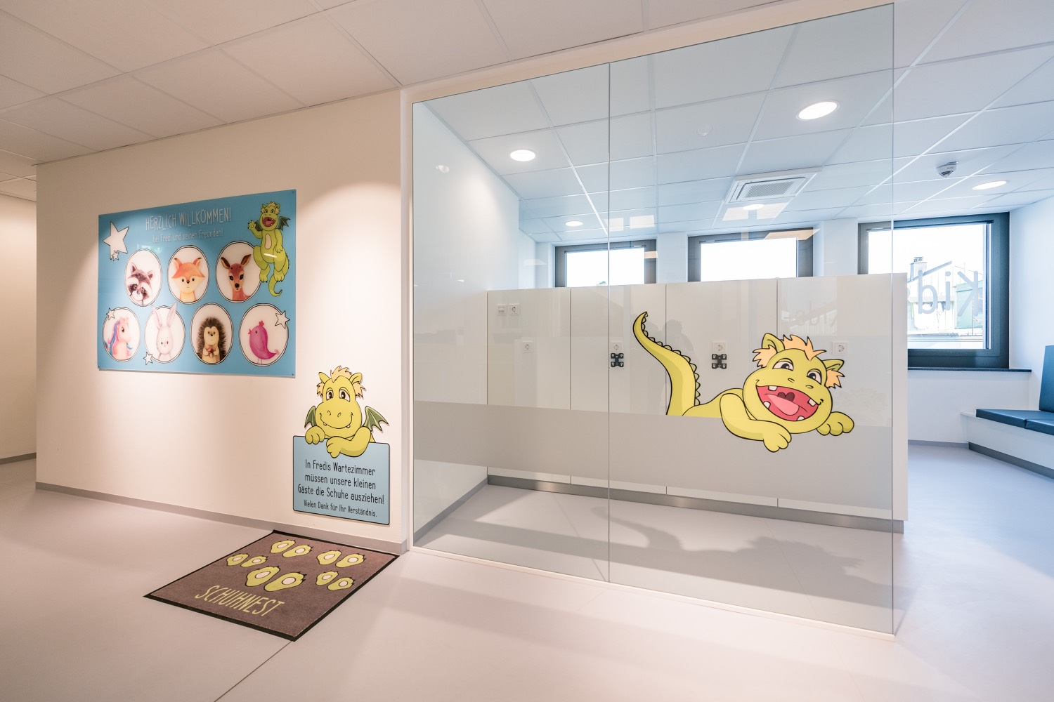 Wartezimmer- Kids-first Kinderzahnheilkunde Bad Aibling